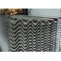Quality H14 750mm Aluminium Corrugated Roofing Sheets / Panels Industrial Trapezoidal for sale
