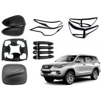 China TOYOTA Fortuner 2016 2018 Auto Body Trim Parts Black and Chrome Accessories on sale