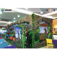China Dinosaur Decoration Cabin Box 220V 5D Digital Theater System For Children Amusement wholesale