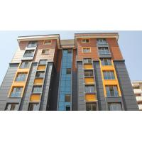 China Light Weight Wood Grain Fibre Cement Board Cladding , Exterior Wall Siding Panel wholesale