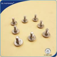 China Gr4.8 8.8 Full Thread Small Carriage Bolts Stainless Steel 316 Material wholesale