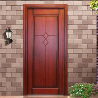 Buy cheap villa first choice 2015 new design front timber entrance door from wholesalers