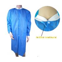 China Medical Disposable Lab Coats , Industrial Protection Disposable Lab Jackets wholesale