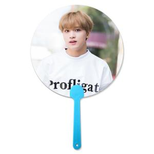 China 17x17cm Flip &3D lenticular hand fan for Korea Star Promotional 3D Hand Fan for Kpop Idol wholesale
