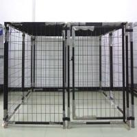 China Large Outdoor Pet House Welded Metal Dog Breeding Cage Products on sale