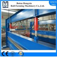 China Aluminum Sheet Roll Bending Machine 4 Meter Raw Material Width PLC Control on sale