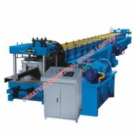 China Metal Z Section Profile Purlin Roll Forming Machine with Cold Roled Steel Strips Rollers wholesale