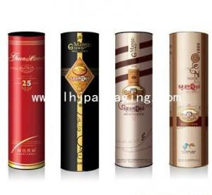 China wine box,round wine box , tube box ,canister box wholesale