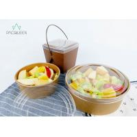 China Pasta Salad / Meal Food Delivery Container 750ml Leak Proof Food Grade Eco - Friendly wholesale