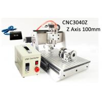 Buy cheap USB Controller 4 Axis Z axis Travel 100mm 3040 CNC Router 3D 800w Heighten Version from wholesalers