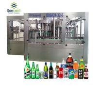 China Juice Carbonated Drink Water Bottle Filling Machine Aluminum Tin Can Making Machine wholesale