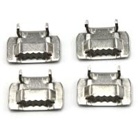 China Heat Resistance Stainless Steel Banding Buckles Lx Type  Stainless Steel Banding wholesale