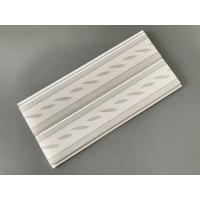 China Green Leaf Kitchen Wall Cladding Panels , Plastic Wall Liner Panels wholesale