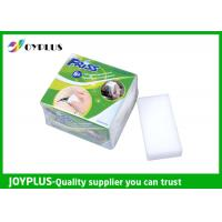 China Effective Magic Cleaning Sponge , Plastic Mesh Scouring Pads Melamine Form Material on sale