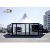 China Luxury Hexagon Module Square Outdoor Event Tents For Church , Banquet on sale