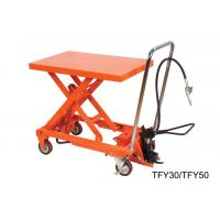 Quality High Performance Lab Hand Lift Table With Removable Chromed Handle Frame for sale