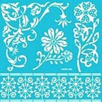 China Reusable self-adhesive templates/stencils for home decors, scrapbooking and more wholesale