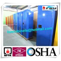 China Grounding Corrosive Safety Cabinets , Acid Storage Containers 22 GAL Lockable wholesale