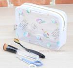 China Waterproof PVC Toilet Kit Clear PVC Wash Bag Toiletry Wash Bag Organizer Pouch wholesale