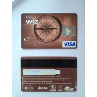 Prepaid debit card / visa smart card customer design PVC material