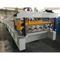 China 5.5kw 18 Stations Tile Roll Forming Machine / Roof Tile Making Machine wholesale