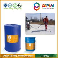 China Single Component Self-leveling Polyurethane Slot Filling Adhesive for Airport Runway PU820 wholesale