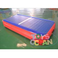 China Floating Gymnastics Air Track Water Boards Inflatable Jumping Mat for Exercise wholesale