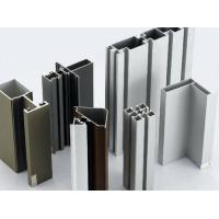 China Anodized Aluminium Door Profiles , European Standard Aluminium Door And Window Frames wholesale