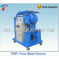China Contnious transformer oil management machine,high oil yield rate,dewater,degas, eliminate particulate from oil wholesale