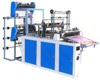 China Flat bag making machine, heat sealing cold cutting bag making machine wholesale