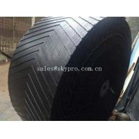 China Heat Resistant Rubber Conveyor Belt With 10-24Mpa Tensile Strength , 5-30mm Thickness wholesale