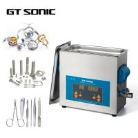 China 150W 40KHz 6L Digital Ultrasonic Cleaner 1-99 Mins Timer With Stainless Steel Tank wholesale