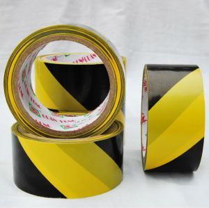 China land marking oil acrylic adhesive PVC Warning Tape , Polyethylene detectable warning tape wholesale