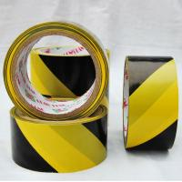China land marking oil acrylic adhesive PVC Warning Tape , Polyethylene detectable warning tape wholesale