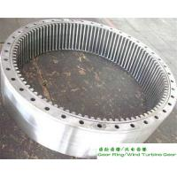 China Rolled Ring Gear Forging Surface Hardening Treatment For Wind Turbine ABS wholesale