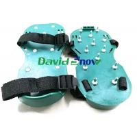 China PVC Floor Self Levelling Tools Anti - Slip Safety Spiked Shoes Adjustable Straps wholesale