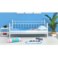 Buy cheap Sofa bed modern minimalist Princess Iron bed adult single bed from wholesalers