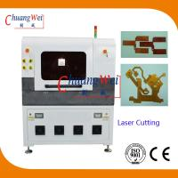 China Laser Cutting PCB Depaneling Machine , 17 Watt UV Laser Cutter Equipment wholesale