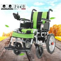 China Various Color Portable Motorized Wheelchair Aluminum Alloy Material DLY-6001 wholesale