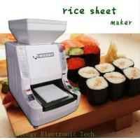automatic sushi rice sheet machine of micogy. Black Bedroom Furniture Sets. Home Design Ideas