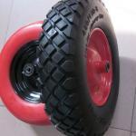 Lauching Wheel Flat Free PU Foam Wheel 300-4 Lauching Trolley Wheel Flat Free PU