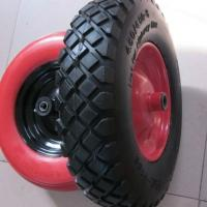 Quality Lauching Wheel Flat Free PU Foam Wheel 300-4 Lauching Trolley Wheel Flat Free PU for sale