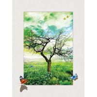 China Four Season Tree 5d Lenticular Pictures 0.6mm Pet 30*40cm Painting Poster wholesale