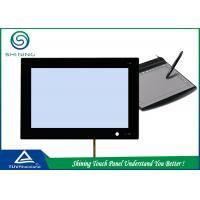 Black Frame 7 Inch 4 Wire Resistive Touch Screen PanelFor Office Device
