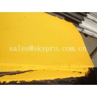 China Embossed EVA rubber foam sole sheet variable textures on bottom wholesale