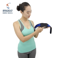 China Unisex Self Heating Neck Brace Neck Support - Breathable Spontaneous Heat Soft Adjustable Cervical Collar Magnetic Thera wholesale