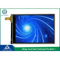 China Mobile Phone Four Wire Resistive Touch Screen 3.2 Inch With ITO Layer on sale