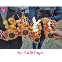 China Disposable French Fries Custom Printed Paper Cups for Chips and Ice Cream wholesale