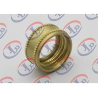 Buy cheap CNC Turning Precision Brass Knurling Parts 0.704in Outer Diameter M14 X 1.0mm from wholesalers