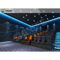 China Vivid Muti-Dimensional 4D Movie Theater With Motion Seats , 4D Cinema Seats wholesale